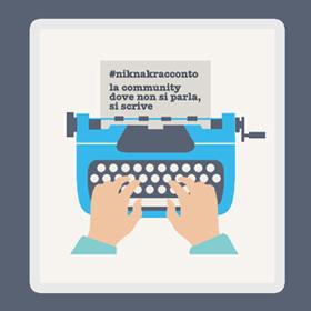 #niknakracconto, scrivi la tua storia per nikank